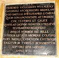 DSC02993 - Duomo di Milano - Scurolo di san Carlo - Federico Visconti - Lapide - Foto Giovanni Dall'Orto - 29-jan-2007.jpg