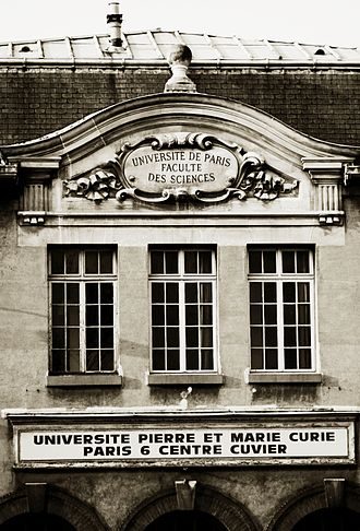 Pierre and Marie Curie University - Historic View of University