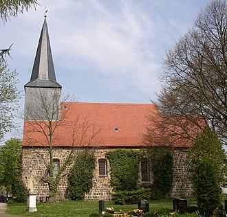 Dabergotz - Church