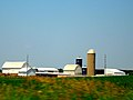 Dairy Farm with Two Silos - panoramio.jpg