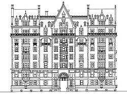 Elevation (south front)