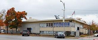 Dallas County, Missouri - Image: Dallas County MO Courthouse 20151023 210
