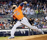 Picture of Houston Astros pitcher Dallas Keuchel