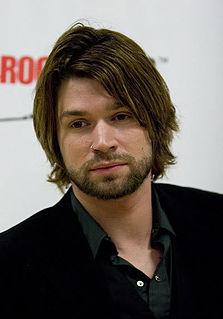 Adam Lazzara American singer