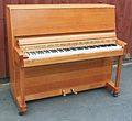 Danemann School Piano in Oak Case. DOM 1970.jpg