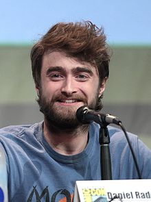 Daniel Radcliffe - the cool, sexy,  actor  with Irish, Jewish, English,  roots in 2019