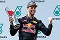 Daniel Ricciardo 2016 Malaysia podium.jpg