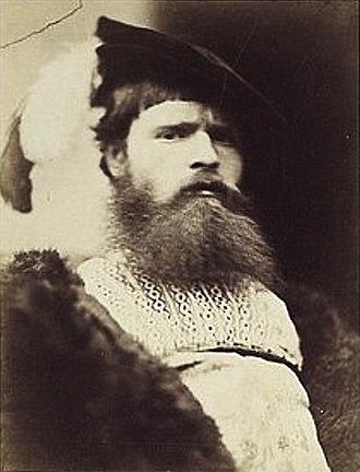 William Frederick Yeames - Portrait by David Wilkie Wynfield