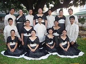 The De La Salle University Chorale in 2010