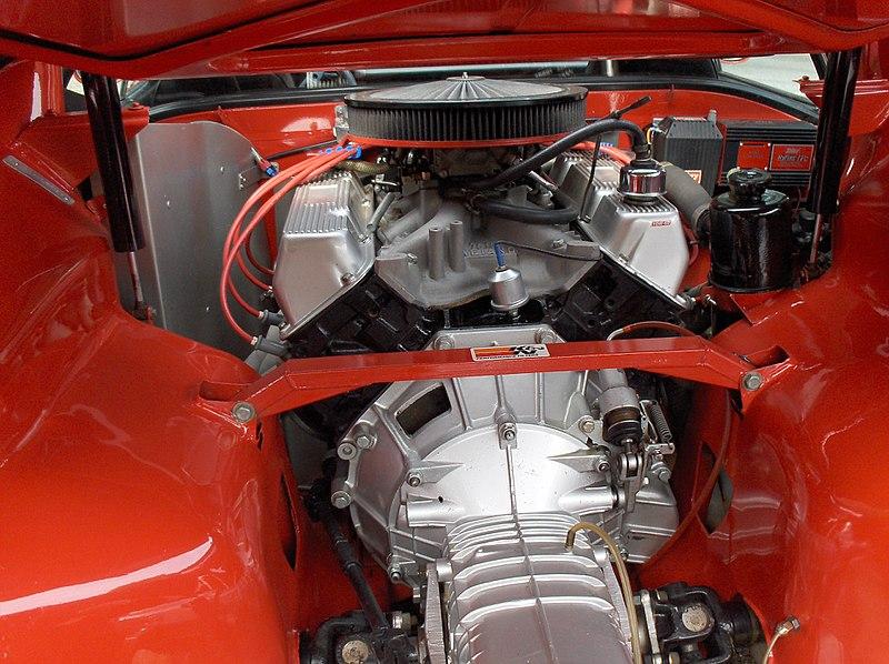 File:De Tomaso Pantera (1975) engine.jpg