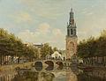 De Torensluis met de Jan Roodenpoortstoren te Amsterdam Rijksmuseum SK-A-1018.jpeg