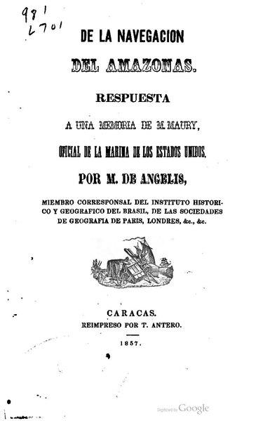 File:De la navegación de Amazonas (1857).pdf