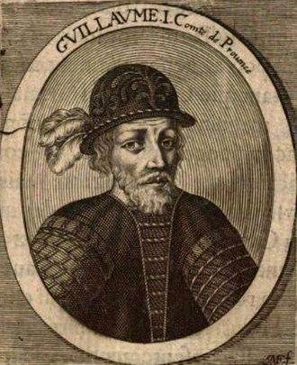William I of Provence - William I of Provence (engraving of 1655)