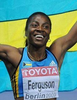 Debbie Ferguson-McKenzie Bahamian sprinter