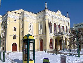 Csokonai Theatre theatre in Debrecen, Hungary