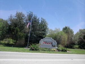 Deep Creek, Florida - Image: Deep Creek, Florida Sign