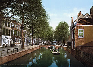 Sigismund Payne Best - Nieuwe Uitleg: the street in The Hague where Payne Best had his office in 1939