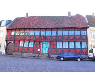 Nyborg - The town museum Mads Lerches Gaard.
