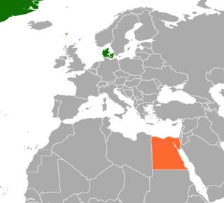 Denmark–Egypt relations