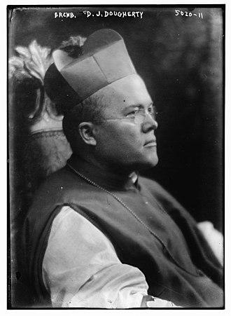 Dennis Joseph Dougherty - Image: Dennis Joseph Dougherty circa 1918