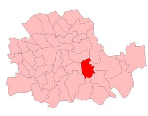 Deptford (UK Parliament constituency) - Deptford in London 1950-74