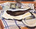 Derkovits Gyula Still Life with fish II. (1929).jpg