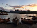 Derwent Water at sunset with boats.jpg