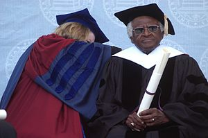 Desmond Tutu at the University of Pennsylvania