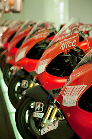 Ducati Desmosedici - Desmosedici chronology at the Ducati Museum