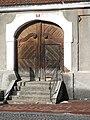 Detail vyřezávaných dveří, ulice Pražská, Stříbrná Skalice (001).JPG