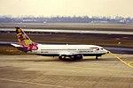 Deutsche BA B737-300 D-ADBQ at DUS (15940726207).jpg