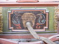 Deutsches Feuerwehrmuseum - Historische fahrbare Handdruckspritze des Johann Georg und Johann Philipp Bach, Detail Schlauchanschluß.JPG