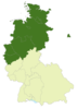 Deutschland Lage der 2. Bundesliga Nord.PNG