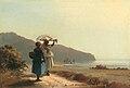 Deux femmes causant au bord de la mer, Saint Thomas (Camille Pissarro) – NGA 1985.64.30.jpg