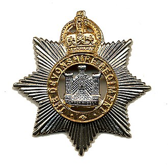 Devonshire Regiment - The badge of the Devonshire Regiment