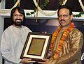 Dhrupad-Dhamar Singer Vinod Kumar Dwivedi Honored by Dhrupad Kala Martand.jpg