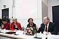 Die Bundesversammlung hat Gauck zum Prsädienten gewählt, Beate Klarsfeld erhielt 126 Stimmen - drei mehr, als DIE LINKE Mandate hatte (6995914097).jpg