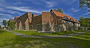 Storkow Castle - Image: Die Burg Storkow