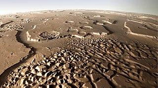 Die markante Landschaft von Hydraotes Chaos auf dem Mars - Flickr - DLR de.jpg