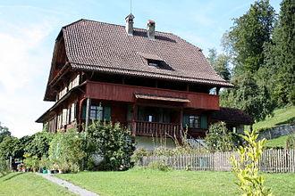 Dierikon - Image: Dierikon, Schlössli Götzental IMG 4791