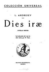 Leonid Andréyev: Español: Dies iræ