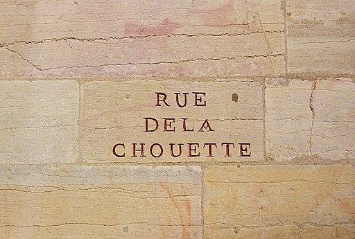 Dijon - rue de la Chouette