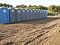 Dilemma at the portable toilets - geograph.org.uk - 1475934.jpg
