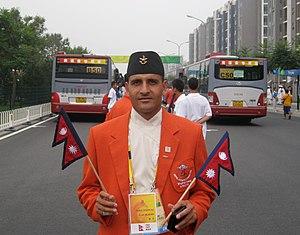 Deepak Bista - Deepak Bista at Olympics