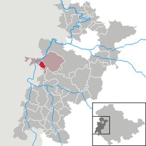 Dippach, Thuringia - Image: Dippach in WAK