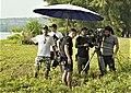 Director Roger Steinmann (left) on film set of PhonY in Phuket, Thailand.jpg