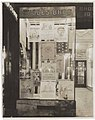 Display case with posters for National Thrift Week at Rhodes Brothers Ten Cent Store, Seattle, ca 1920 (MOHAI 7394).jpg