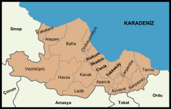 Districts of Samsun.png