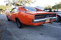 Dodge Charger 1969 RT General Lee Dukes LSideRear SCSN 18Jan2014 (14583026111).jpg