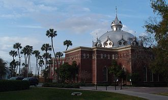 University of Tampa - Dome of Plant Hall's Fletcher Lounge.